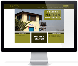 Radio South Sudan - Desktop