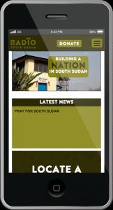 Radio South Sudan - Mobile