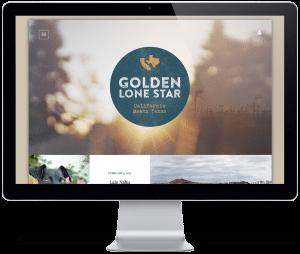 Golden Lone Star - Desktop