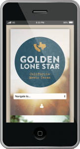 Golden Lone Star - Mobile