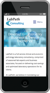 LabPath Consulting - Mobile Version